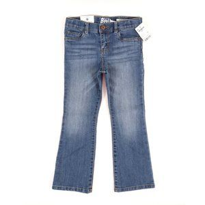 OSHKOSH BOOT CUT DENIM, GIRL'S SIZE 5T